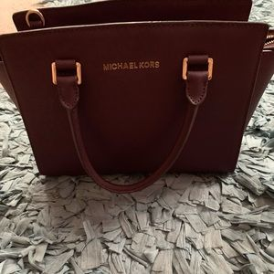 Michael Kors  medium Selma bag, saffiano leather.